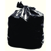 2Work Light Duty 80g black refuse sack, pack of 200 KF73375  246060