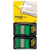 3M Post-it Index Standard Dual Pack Green