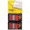 3M Post-it Index Standard Dual Pack Red