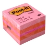 3M Post-it Notes Pink Mini Cube (51mm x 51mm)