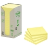 3M Post-it Notes (recycled) Tower Yellow 16-pack (76mm x 76mm)