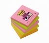 3M Post-it Super Sticky Notes Neon (76mm x 76mm)