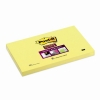 3M Post-it Super Sticky Notes Yellow (76mm x 127mm)