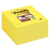 3M Post-it Super Sticky Notes Yellow (76mm x 76mm): 350 sheets