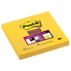 3M Post-it Super Sticky Notes Yellow (76mm x 76mm) 654-S 201372