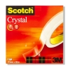 3M Scotch Crystal Clear Tape 19mm x 66m 3M26195
