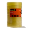 3M Scotch Standard Tape 19mm x 66m (8 rolls) 3M41532