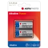 AgfaPhoto C battery 2-pack