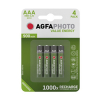 AgfaPhoto Rechargeable AAA micro battery 4-pack