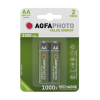 AgfaPhoto Rechargeable AA battery 2-pack