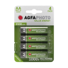 AgfaPhoto Rechargeable AA battery 4-pack