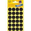 Avery 3003 Ø 18 mm black marking dots (96 labels)