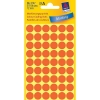 Avery 3147 Ø 12 mm light red marking dots (270 labels)