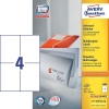 Avery 3483 multi-purpose labels 105 x 148 mm white (400 labels)