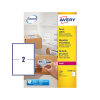 Avery L7168B-100 BlockOut parcel labels 199.6 x 143.5 mm (200 labels)