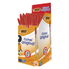 BIC Cristal red ballpoint pen 50-pack