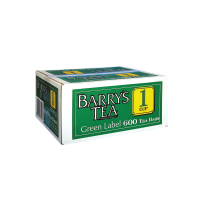 Barry's Green Label Tea Bags, LB0002, pack of 600  246009