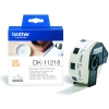Brother DK-11218 white round label (original Brother) DK11218 080718