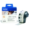 Brother DK-11219 white round label (original Brother) DK11219 080720