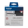 Brother DK-22251 continuous paper tape red / black on white (original) DK-22251 080776