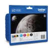 Brother LC-1000VALBP 4-pack (original Brother) LC-1000VALBP 029080