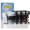Brother LC-129XL / LC-125XL black + 3 colour 4 -pack (123ink version) LC-129XLVALBPC 127215