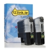 Brother LC-227XLBK black high-cap. ink cartridge 2-pack (123ink version)  127230