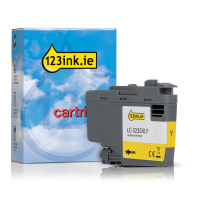 Brother LC-3235XLC high capacity yellow ink cartridge (123ink version) LC3235XLYC 051201