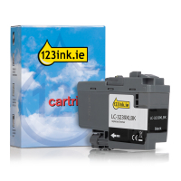 Brother LC-3239XLBK high capacity black ink cartridge (123ink version) LC3239XLBKC 051219