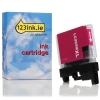 Brother LC-985M XL high capacity magenta ink cartridge (123ink version) 6959080030183 LC985MC 028334