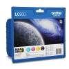 Brother LC900VALBP 4-pack (original Brother) LC-900VALBP 029086
