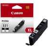 Canon CLI-551BK XL high capacity black ink cartridge (original Canon) 6443B001 018790