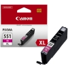 Canon CLI-551M XL high capacity magenta ink cartridge (original Canon) 6445B001 018794