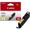 Canon CLI-551Y XL high capacity yellow ink cartridge (original Canon) 6446B001 018796