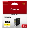 Canon PGI-1500Y XL high capacity yellow ink cartridge (original Canon) 9195B001 018528