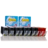 Canon PGI-525PGBK and CLI-526 series 10-pack (123ink version)  127128