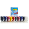 Canon PGI-72M BK/C/M/Y/R/PBK/PM/PC/GY/CO cartridge 10-pack (123ink version)  132075