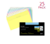 Creative Colour Envelopes DL+ Assorted Pk. of 25
