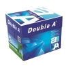 80g Double A A4 paper, 2,500 sheets (5 reams)