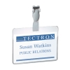 Durable Visitor Name Badge 60x90mm, pack of 25 DB814719 299077