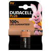 Duracell Plus Power 9V battery 1-pack (6LF22/MN1604/DU01925)