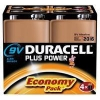 Duracell Plus Power 9V battery 4-pack (SLR61/MN1504/DU02009)