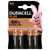 Duracell Plus Power AA battery 4-pack (LR6/MN1500/DU01764)
