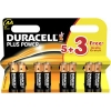 Duracell Plus Power AA battery 8-pack (LR6/MN1500/DU01813)