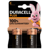Duracell Plus Power C battery 2-pack (LR14/MN1400/DU01908)