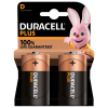 Duracell Plus Power D battery 2-pack (LR20/MN1300/DU01917)