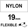 Dymo S0718050 / 16958 19mm flexible nylon tape (123ink version) S0718050C 088535