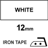 Dymo S0718850 / 18769 12mm white iron-on tape (123ink version) S0718850C 088319