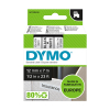 Dymo S0720530 / 45013 12mm tape, black on white (original Dymo)