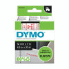 Dymo S0720550 / 45015 12mm tape, red on white (original Dymo) S0720550 088210